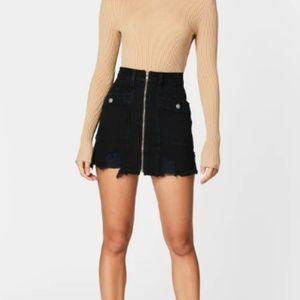 Lincoln Zip Front Cargo Skirt